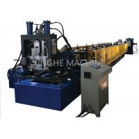 Quality 3 Cylinder Cable Tray Roll Forming Machine , Steel Stud Roll Forming Machine  for sale