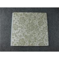 Quality Laminated Decorative PVC Bathroom Wall Panels Heat Insulation Customized Length for sale