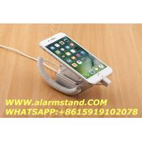 China COMER anti-theft cable lock acrylic security display holder for handphones retail stores on sale