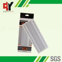 Quality Solderless Pure White Electronic Breadboards Without Color Printed for sale