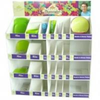 Quality Plastic sheet 4 color offset printing bumping - proof CDU PDQ Display / displays for sale