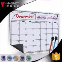 China wholesale magnetic calendar for refrigerator on Amazon  magnetic board for monthly weekly planner  dry earse board on sale