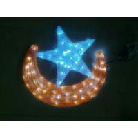 Quality led moon and star lights for shopping mall ramadan decorations for sale