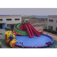 Quality Funny Kids Inflatable Water Park , Inflatable Floating Water Park Playground for sale