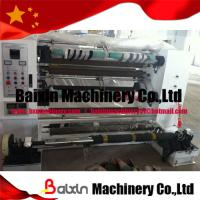 Quality High Speed Slitting Machine with Lessshaft for Paper for sale