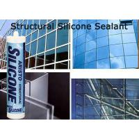 Quality Clear / White / Black / Grey Structural Silicon Sealant , Spray Sealant Heat Resistant for sale