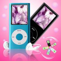 Digital MP4 player with circle button and 30pins cable