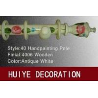 Buy cheap Antique White Handpainting Pole (CurtainRods/CurtainTracks) from wholesalers