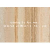 Quality Durable PET Hot Stamping Film , Wood Grain Hydrographic Film Damp Proof for sale