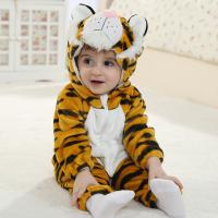 Quality Brand baby clothes Flannel stereo modelling the tiger baby clothes(0-3 Year) for sale