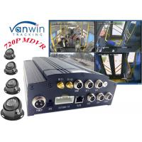 Quality HD 4CH 720P 4G GPS Video vehicle cameras Recorder System with free CMS platform for sale