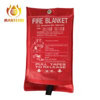 Quality Emergency Fire Fighting Equipment Fire Safe Resistant Blanket 1.8x1.8m EN1869 Standard for sale