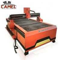 Quality China gold supplier CAMEL CNC plasma cutting and drilling machine/stainless steel metal plate cnc plasma cutter for sale