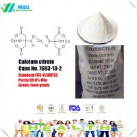 Quality Nature food additive Calcium citrate 813-94-5 chelating agent/slow granule/organization for sale