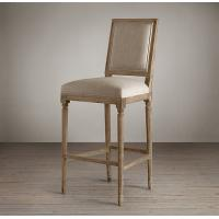 Quality french retro bar chair bar chairs antique wooden bar stool wood bar stools wooden barstool for sale