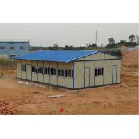 China eps sandwich panel K type prefabricated house for construction site on sale