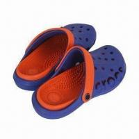 Buy cheap Men's Clogs with EVA Upper and Outsole, Fashionable Design, Various Colors are from wholesalers
