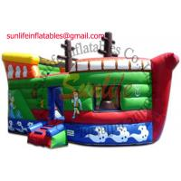 Quality inflatable 0.55mm pvc tarpaulin jumping castle BO106 for sale
