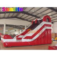 Quality inflatable water pool slide for sale