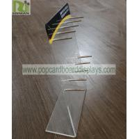 China Practical Acrylic Retail Display Stands Smoke Oil Display Suit For Different Gift Bags on sale