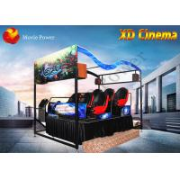 Quality Air Injection / Blow Water XD Simulator 9D Virtual Reality Cinema With 2 - 12 Seat for sale