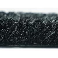 Black 35mm Landscaping Artificial Grass U Shape Synthetic Artificial Grass For Playground
