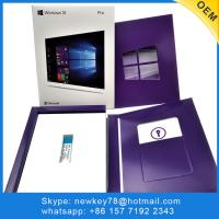 Quality Computer Software Windows 10 Pro Oem Key Usb 3.0 Full Package Win 10 Oem Activation for sale