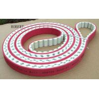 China Adjustable Length Polyurethane Timing Drive Belts 50mm - 100mm Width Red Color on sale