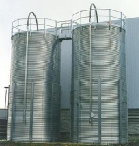 Quality Flat Bottom Steel Silo for sale