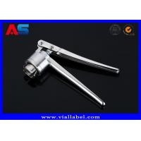 China Stainless Steel Manual Crimping Machine / Manual Vial Crimper For 20mm / 13mm Flip Off Caps on sale