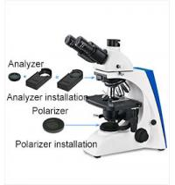 Simple Polarizing Laboratory Biological Microscope , Discovery Biological Microscope