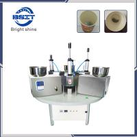 Quality Manual China SS304  paper cup making machine prices/paper tea glass machine price for sale
