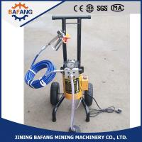 Quality high pressure plunger airless spraying machine for sale