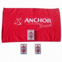 Quality Promotional Compressed Towel with Square Shape, Customized Printings and Sizes are Welcome for sale