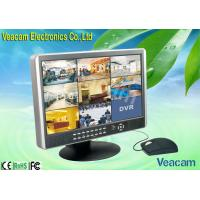 """Quality RS-485 PTZ Control 19"""" LCD CCTV Monitors of NTSC : 720 x 480 for sale"""