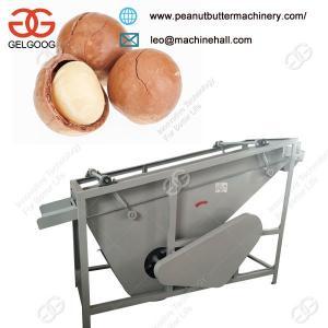 Quality China manufacturerIndustrial Macadamia Nut Shelling Peeling Machine for sale