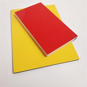Quality Color Coated  Aluminum Composite Panel Width 1500mm Max Outer Wall for sale