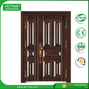 Quality China Factory TOP Sale One Single and Half Steel Security Door, Metal Door, Iron Entrance Door for sale