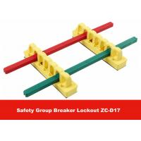 Quality PA Colorful Safety Group Breaker Lockout with 3M Tap on Back for sale