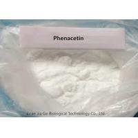 Quality Pharmaceutical Grade Material Phenacetin  CAS: 62-44-2 For Relieving Pain And Hot for sale