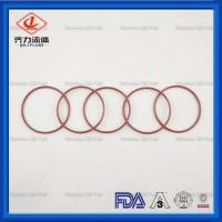 Quality Silicone Core Sanitary Clamp Gaskets FEP Clear Coating O Ring Tri Clamp Screen Gasket for sale