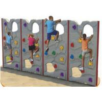 Quality Customized Color Kids Plastic Climbing Wall For Park Environmental Protection for sale