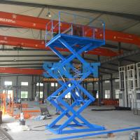 Quality 1T 3M Freight Elevator Goods Lift For Warehouse for sale