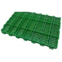 Quality Hog Slat Flooring Propene Polymer Material Smooth Surface Easy Install Multi Colors for sale