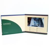 China 1024 x 600 Resulotion Video Brochure Card Switch Buttons With Micro - Thin LCD Screen on sale