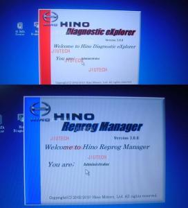 Quality Hino Diagnostic Explorer + Hino Reprog Manager V3.0 for Hino Diagnostic Tool for sale
