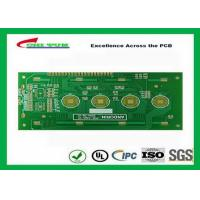 Quality Key board PCB 2layer FR4 1.6mm surface plating gold  trace 4/4mil for sale