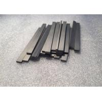 Quality Tungsten Carbide Bars / Strips For Metal Cutting With 45 Degree Angle Surface for sale