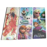 Quality Eco-friendly Decoration 3D Effect Printing Custom Plastic Bookmarks for sale