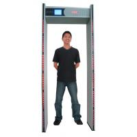 Quality LCD 6 zones walk through metal detectors for sale